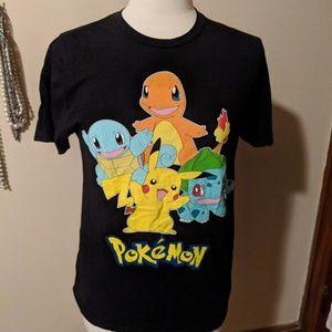 Tops - Pokemon size medium tee
